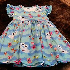 Baby shark dress
